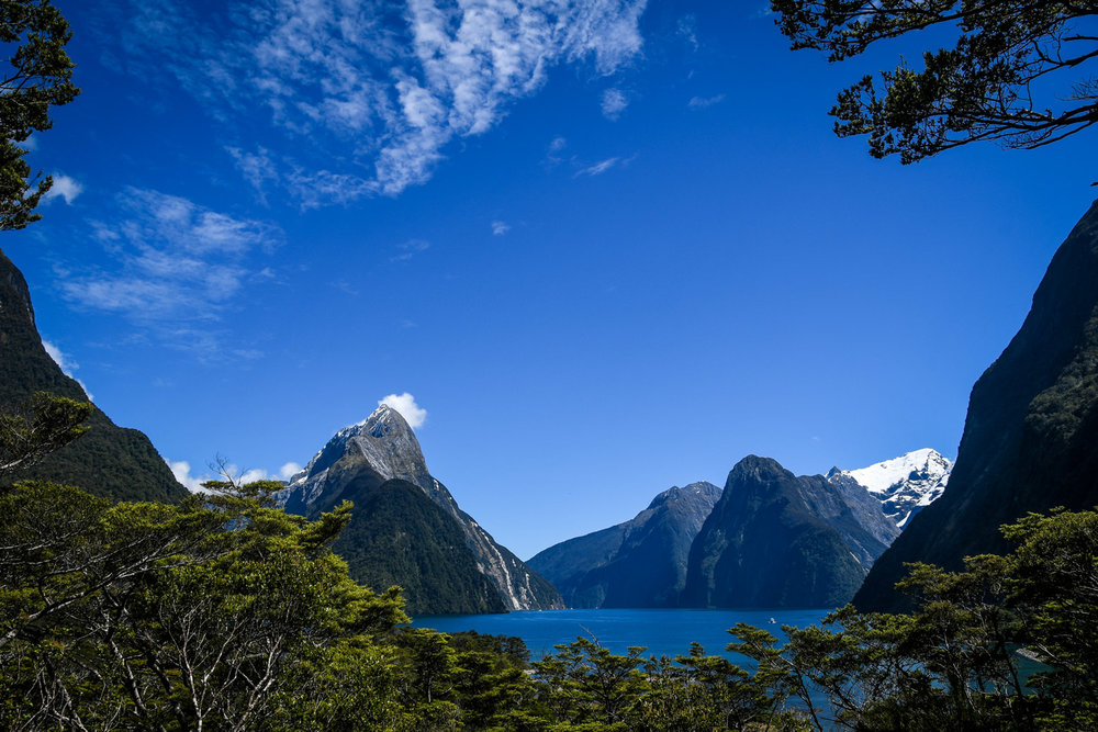 South Island New Zealand Itinerary Road Trip Milford Sound Viewpoint