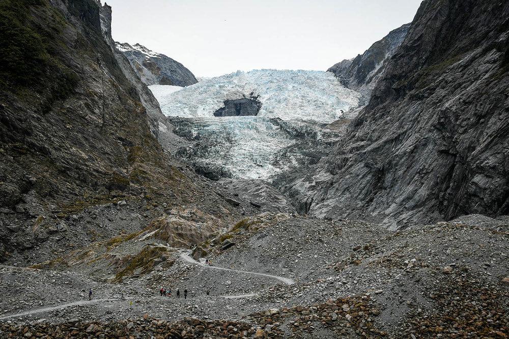 South Island New Zealand Itinerary Road Trip Franz Josef Glacier