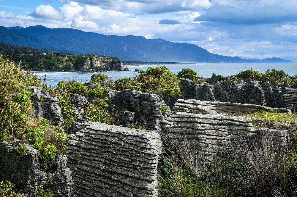 South Island New Zealand Itinerary Punakaiki Pancake Rocks