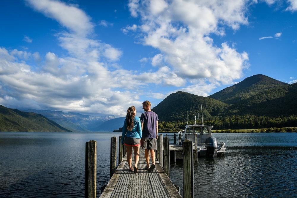 South Island New Zealand Itinerary Lake Rotoroa