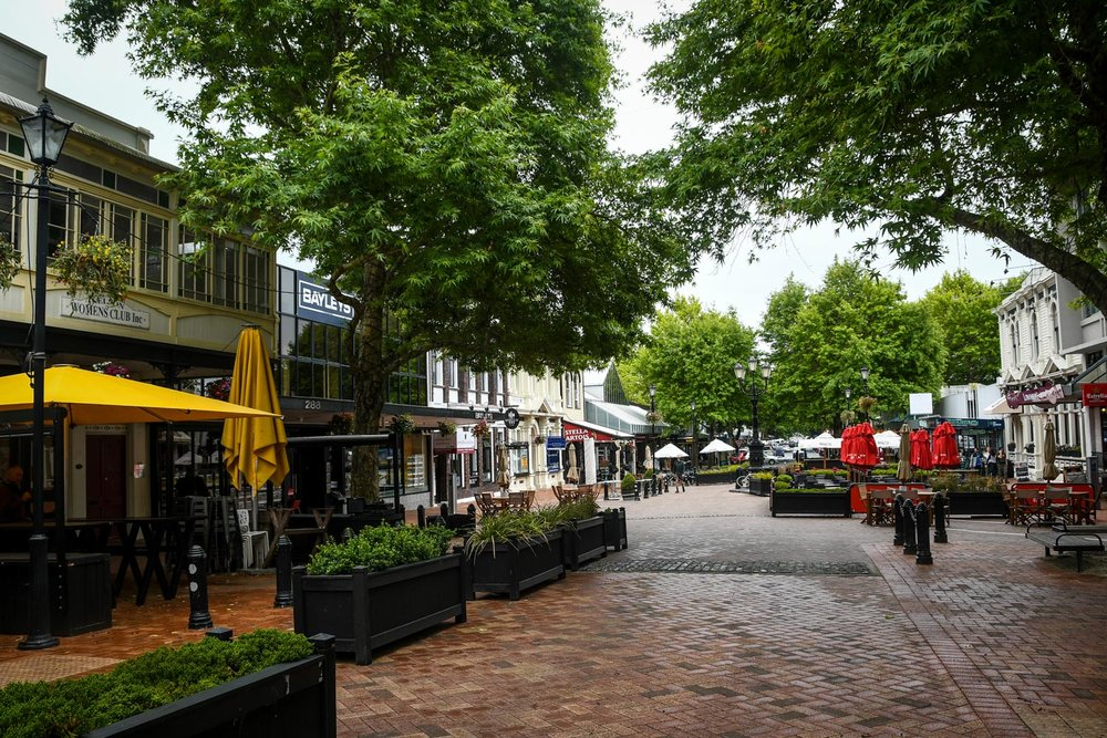 South Island New Zealand Itinerary Nelson City Street
