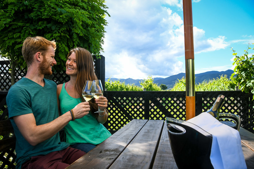 South Island New Zealand Itinerary Wine Tasting Marlborough Saint Claire Family Estate Winery