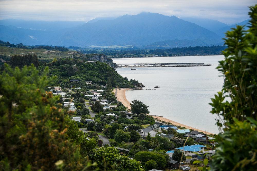 South Island New Zealand Itinerary Tata Beach Drive Viewpoint