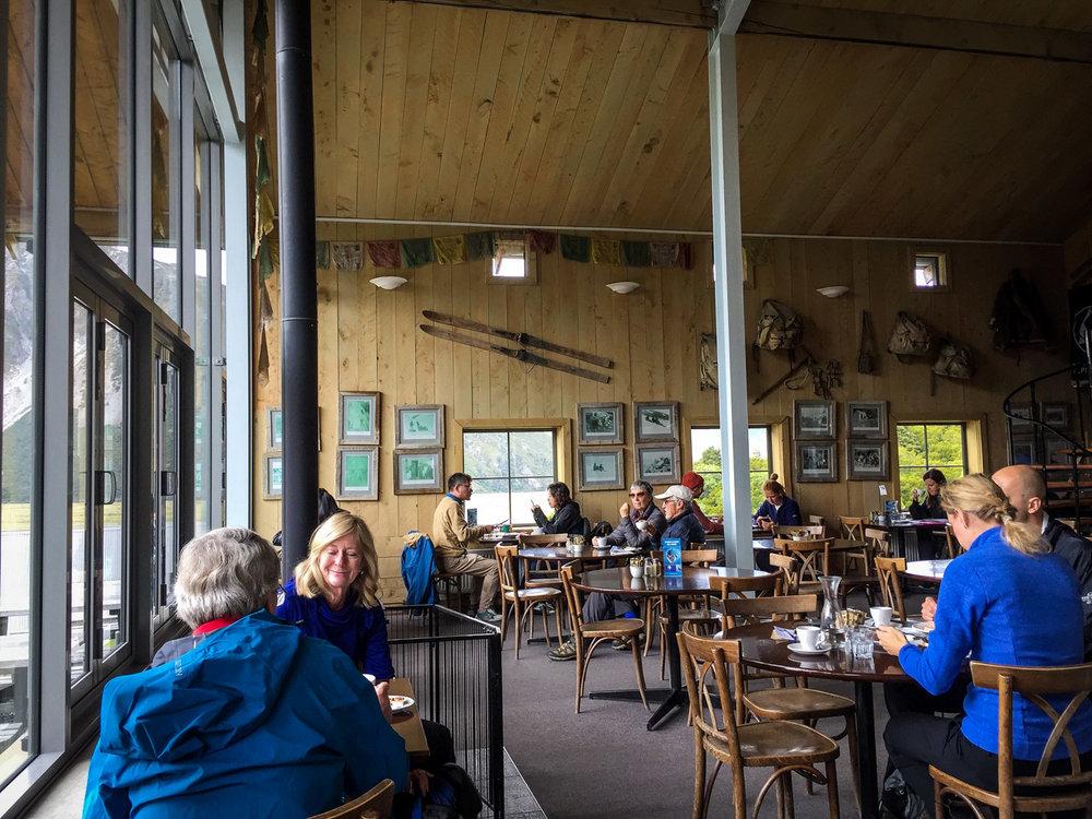 South Island New Zealand Itinerary Road Trip Aoraki Cafe