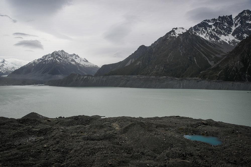 South Island New Zealand Itinerary Road Trip Tasman Glacier