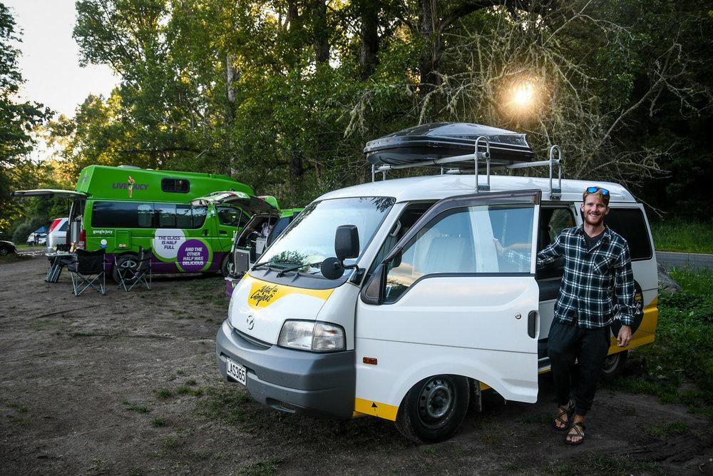 New Zealand Budget Travel Free Campsites