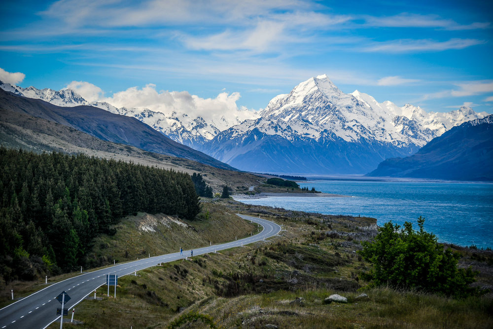 Planning a Campervan Trip in New Zealand Mount Cook Drive