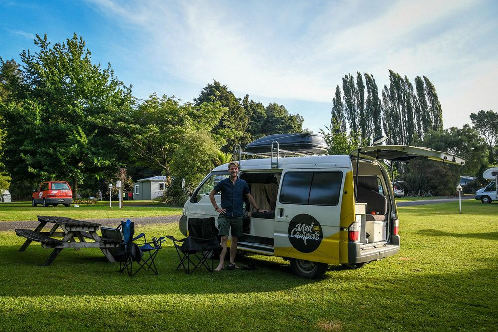 Planning a Campervan Trip to New Zealand Private Campgrounds