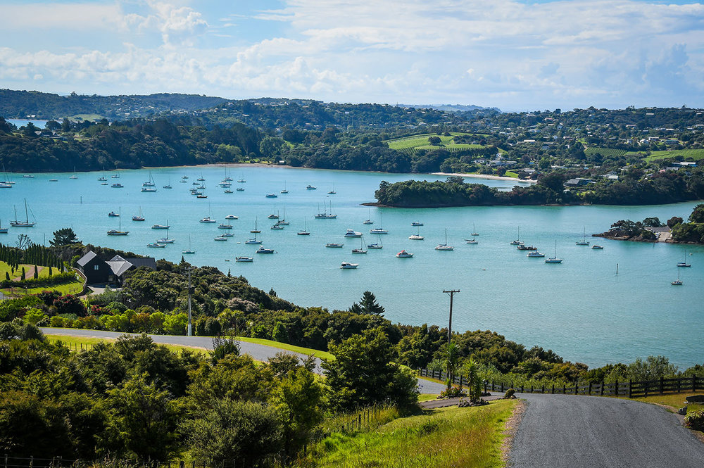 North Island New Zealand Itinerary Waiheke Island Bay