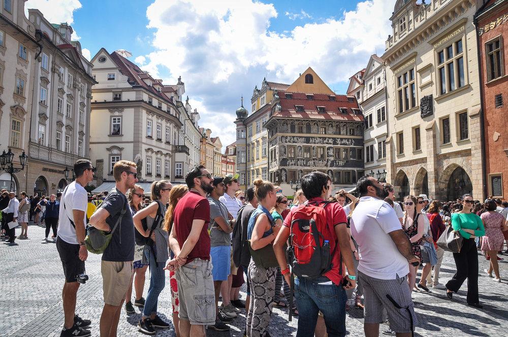 Things to do in Prague Free Walking Tour