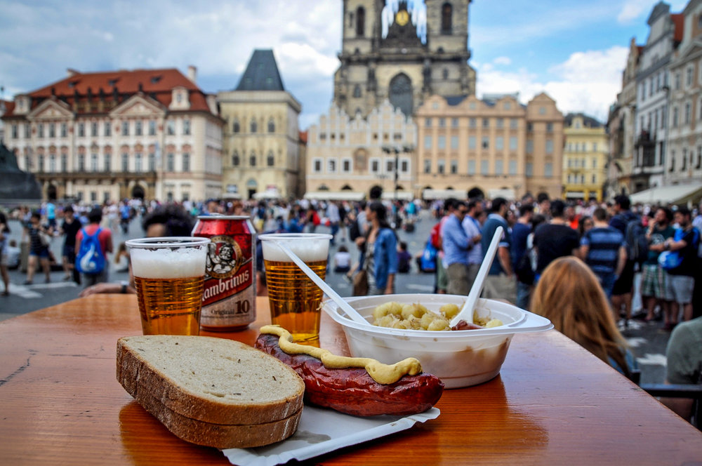 Things to do in Prague Czech Food