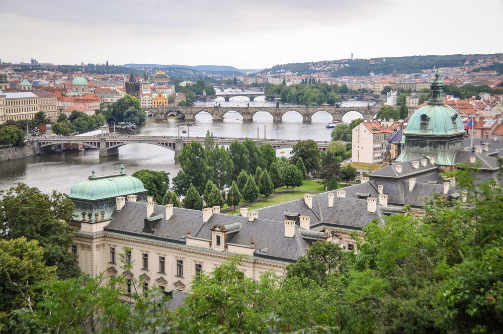 Things to do in Prague Letna Park View