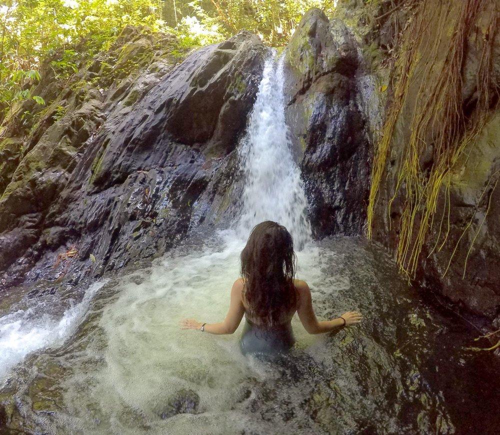 Billy Barquedier Falls Plunge Pool