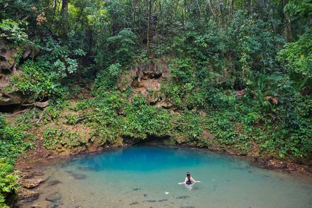 St. Herman's Blue Hole