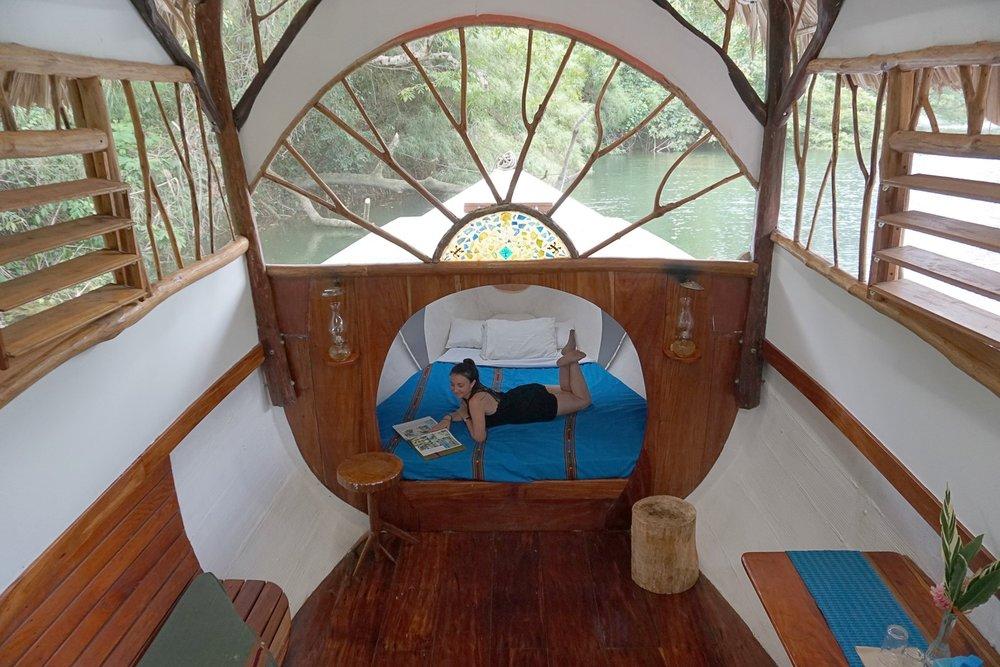 Cotton Tree Lodge Boat Cabana