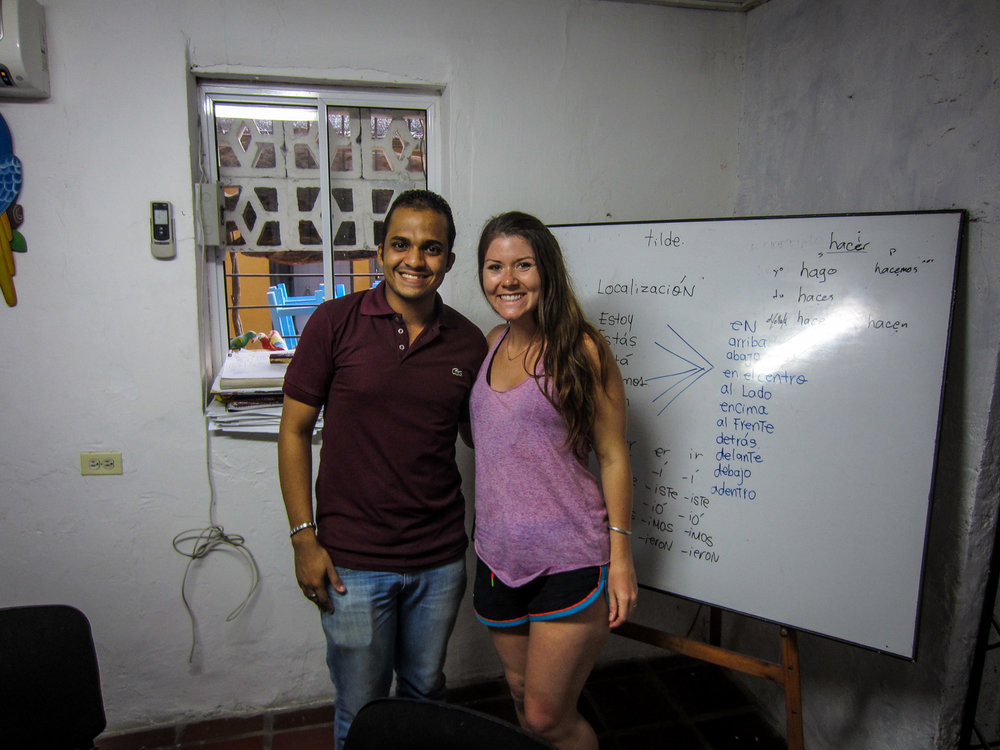 Things to do in Cartagena Spanish Class