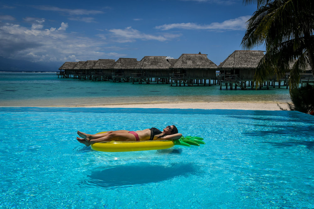 As a Digital Nomad, you can even bring your work with you to Tahiti…