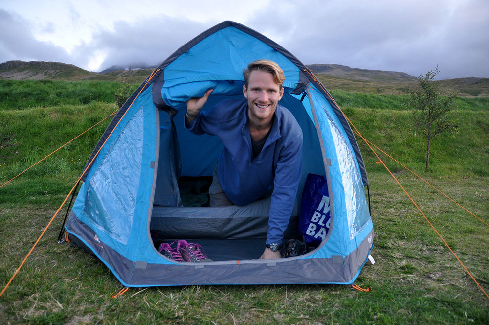 Iceland Budget Travel Camping in Iceland