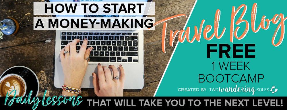 Start a Money Making Travel Blog