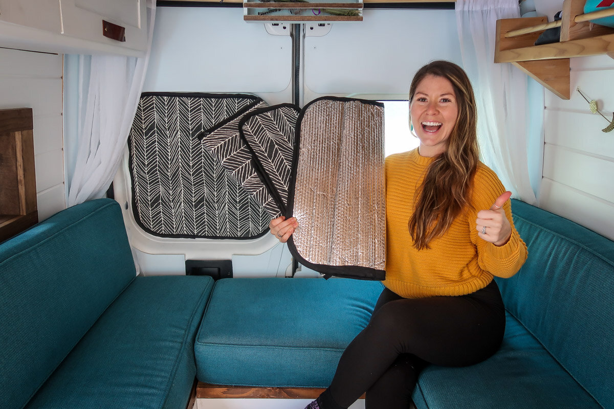 DIY Campervan Curtains