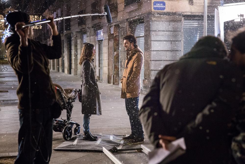 Barcelona nit d'hivern