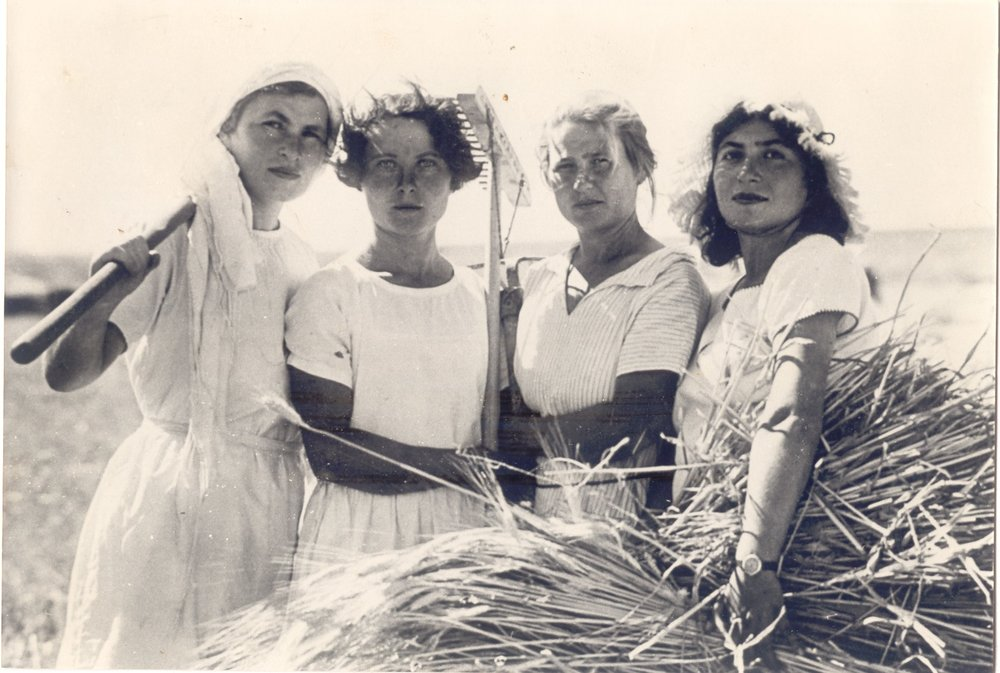 Image from the film: Women Pioneers