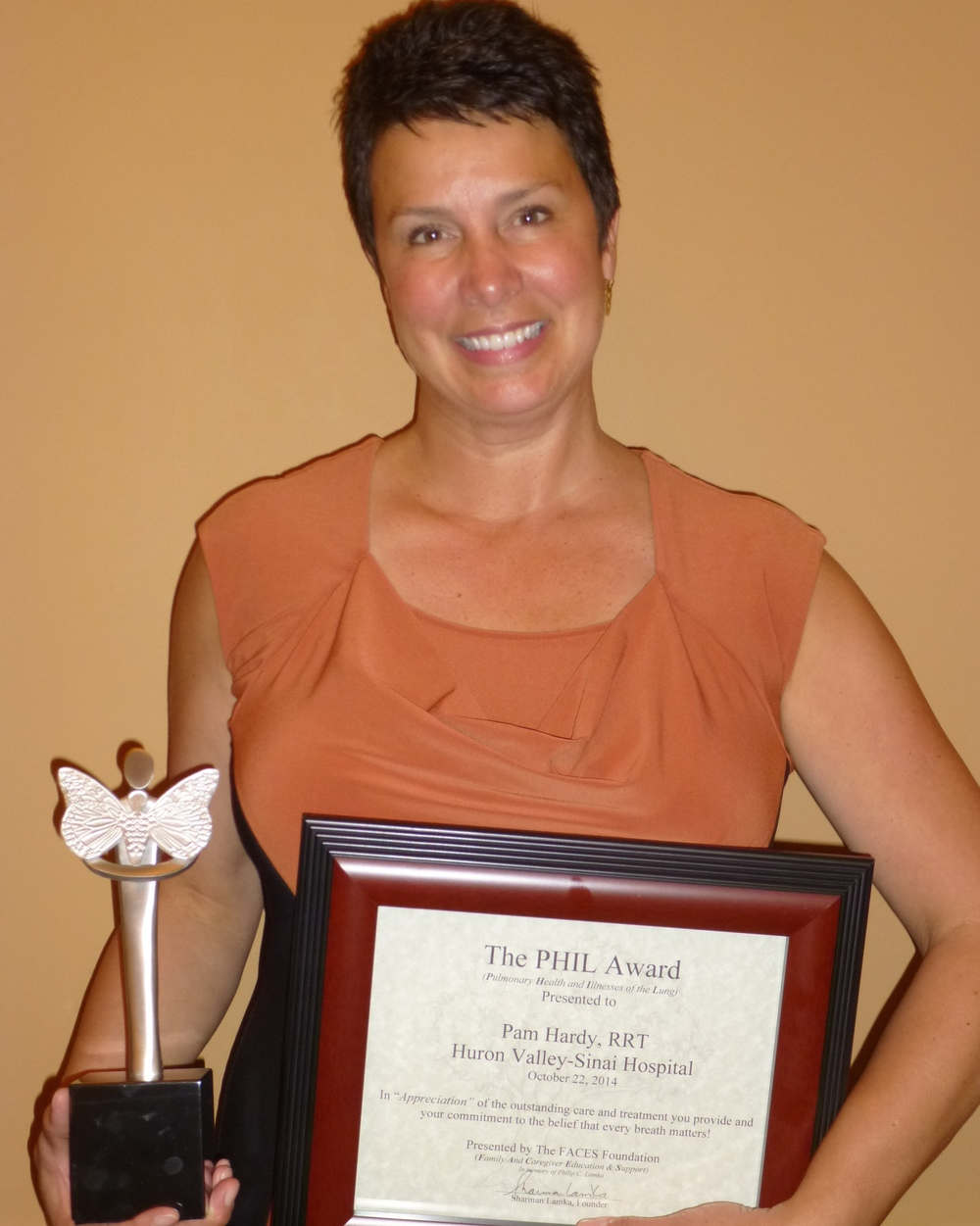 Pam Hardy, RRT - DMC Huron Valley-Sinai Hospital, Commerce Twp., MI