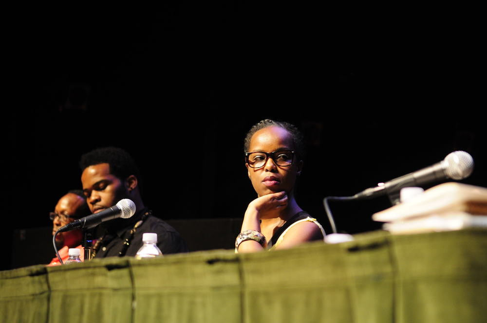 "Mark Anthony Neal, Asadullah Muhammad and Deejay Reborn panelist for ""Keep it in the Closet: The historic speculation around MJ's gender bending persona"""
