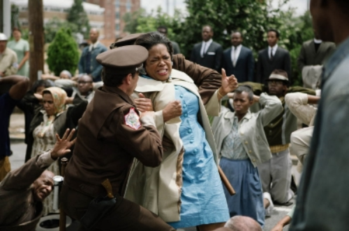Oprah Winfrey as Anna Lee Cooper in the movie Selma.