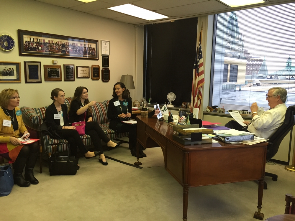Food Allergy Discussion with Representative Bobby Orrock(R)