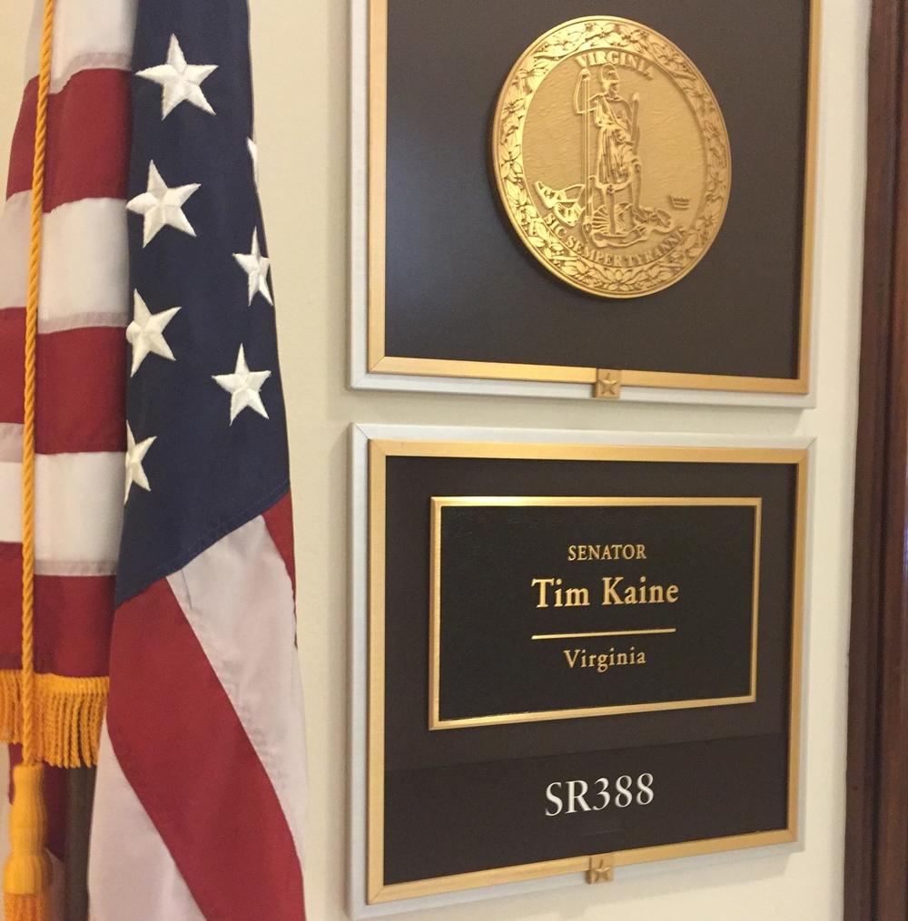 Senator Tim Kaine (D-VA)