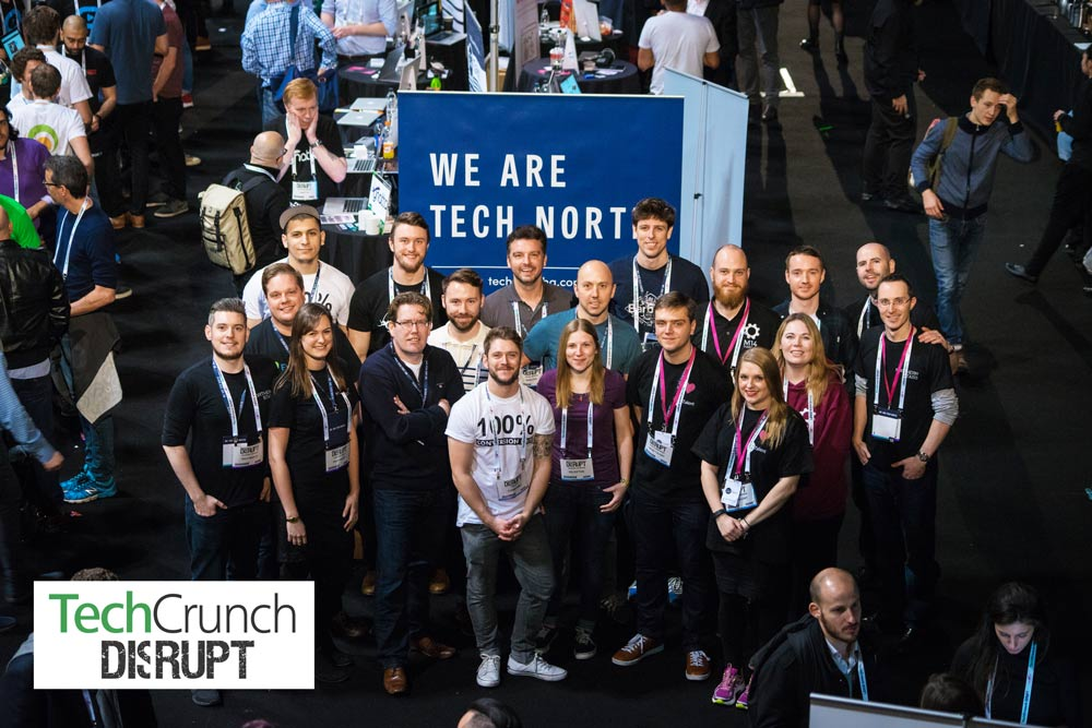 Peak held a stand in Startup Alley at TechCrunch Disrupt London 2015