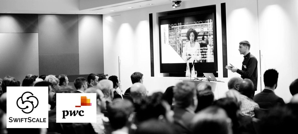 Peak pitching at the PWC Swiftscale demo day - Jan 2017