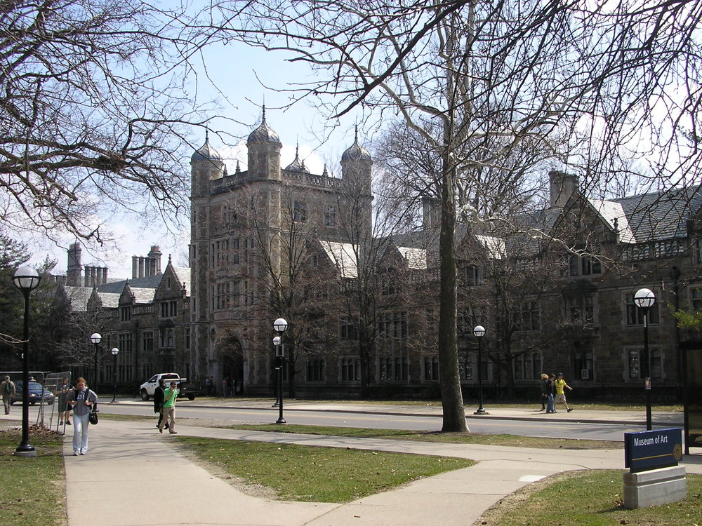 University of Michigan campus in Ann Arbor, Michigan