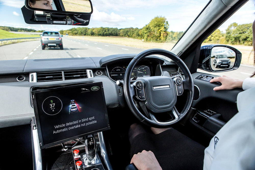 Autonomous Vehicle Technologies/Jaguar