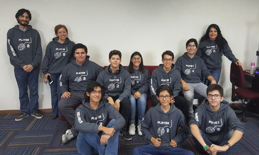 Students from two high schools of Tecnológico de Monterrey participated in the Zero Robotics competition.