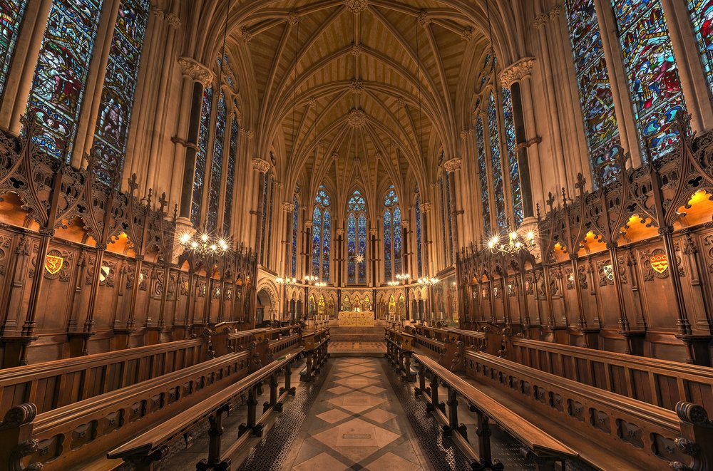 The ranking measures student engagement and outcomes, the diversity of institutions' learning environments, and the resources that universities have to teach effectively. - Photo: Exeter College Chapel / David Iliff