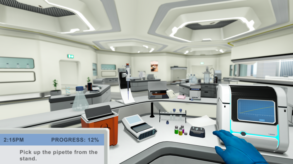 In these virtual labs, students can perform activities such as examining organisms under a microscope, sequencing DNA or visiting exoplanets. - Images: Google