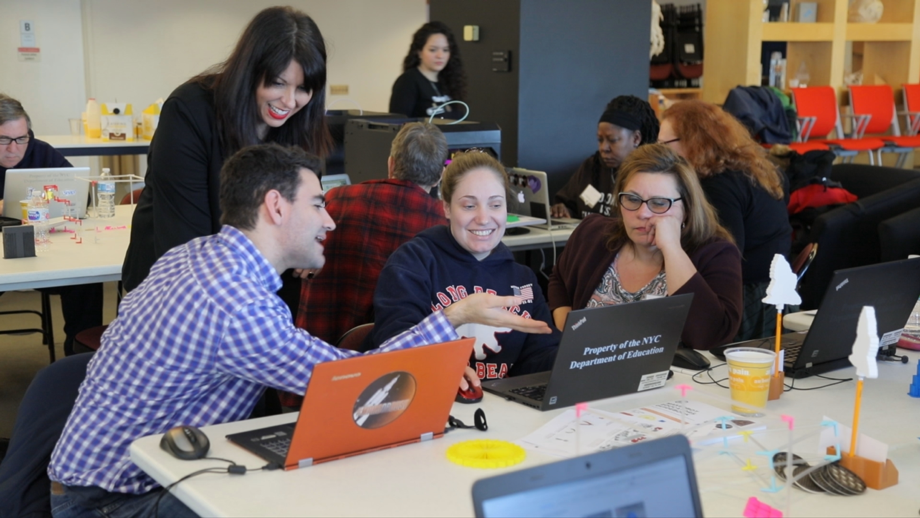 With this online certification program teachers prepare to become 3D printing experts through individual training to develop their 3D printing curriculum and lessons. - Photo courtersy of MakerBot.