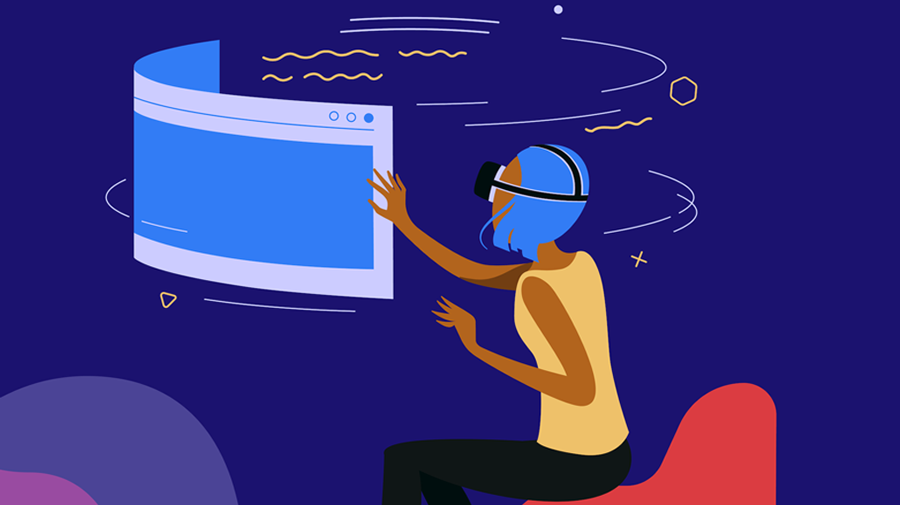 In Firefox Reality users can browse through VR games, videos, experiences, and environments. - Image: Mozilla