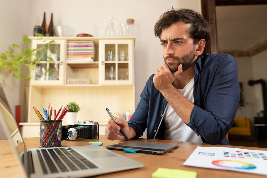 With Learn from Fiverr freelancers can improve or acquire new skills and earn badges to have greater exposure to job opportunities. - Image: Bigstock
