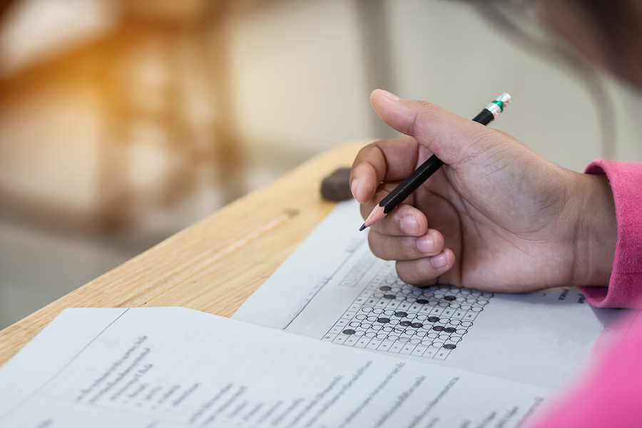 Standardized tests limit student learning and the teacher's work by focusing on the institutional curriculum rather than the needs of the students. - Photo: Bigstock