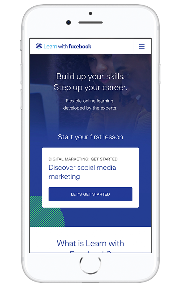 Learn with Facebook platform