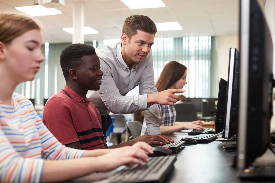 Critical thinking and open conversation are essential to teaching a sensible use of technology. - Image: Bigstock.