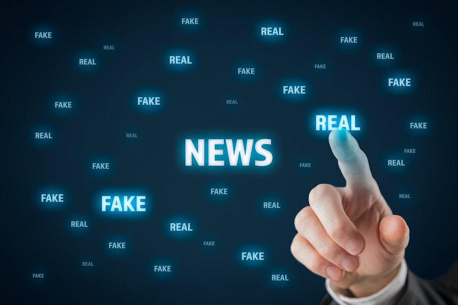Fake news is as common as real news nowadays, we have to learn the difference between them. - Image: Bigstock.