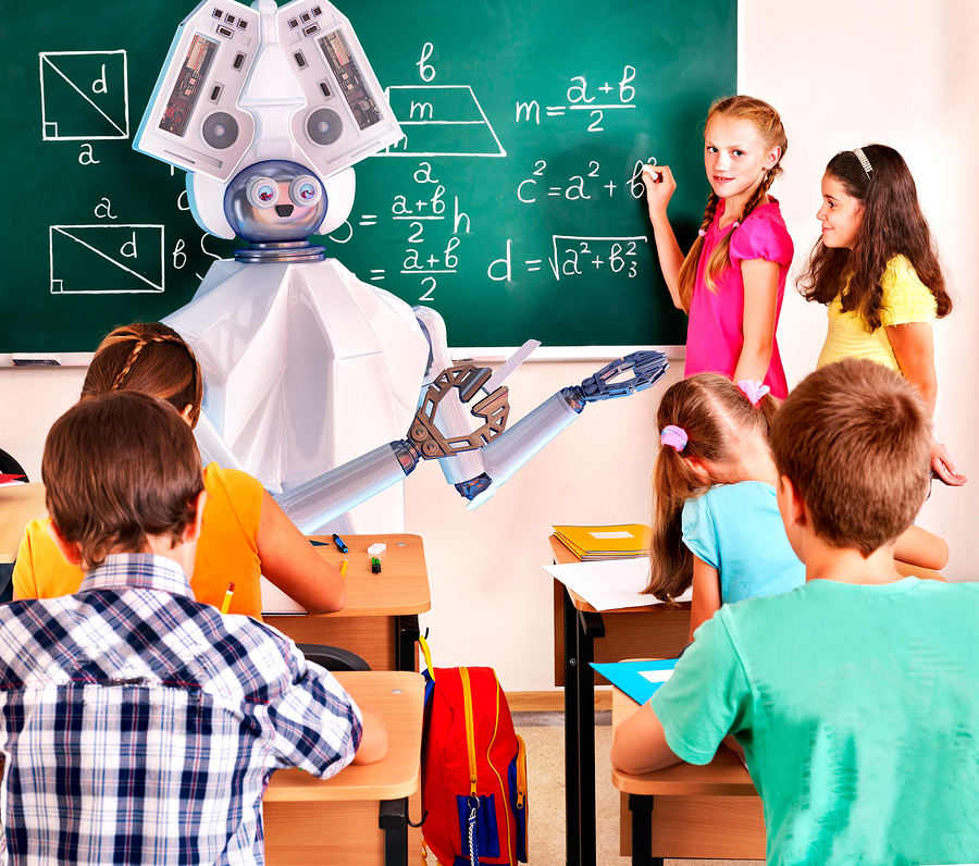 Century Tech, a British startup that offers an artificial intelligence platform for education, signed an agreement with 700 Belgian schools. The goal? Personalized education for all. - Photo: Bigstock