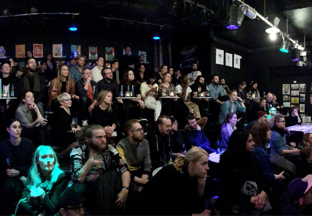 NETWORKING EVENT GLUG STOCKHOLM STOCKHOLM, 2014 >FEATURED IN CAP & DESIGN<