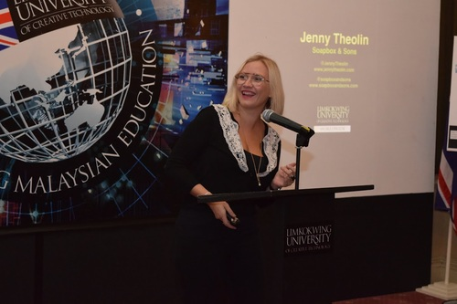 KEYNOTE SPEAKER  LIMKOKWING UNIVERSITY   LONDON, UK, 2014