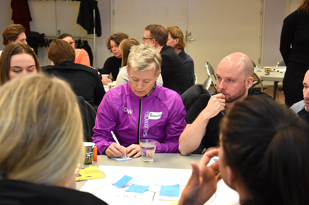 WORKSHOP & FACILITATION   BERGHS BOOST CAMP   BERGHS, STOCKHOLM, 2016