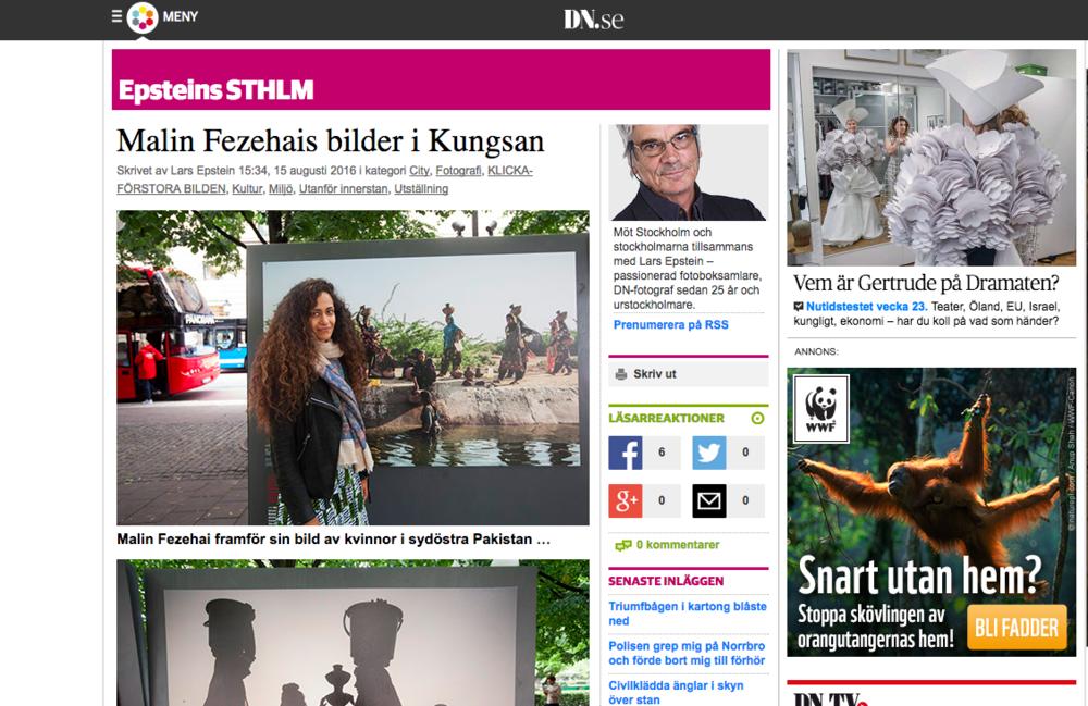 Dagens Nyheter http://blogg.dn.se/epstein/2016/08/15/malin-fezehais-bilder-i-kungsan/